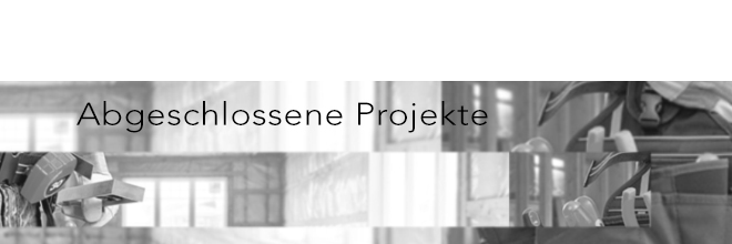 Abgeschlossene Projekte